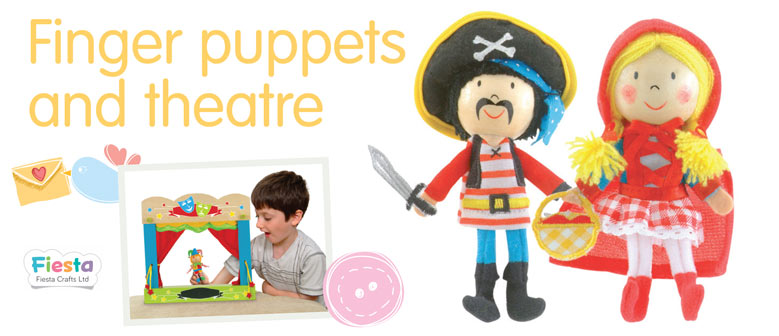 Finger Puppets & Theatre